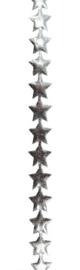 Ster lint zilver - Kerst - per meter
