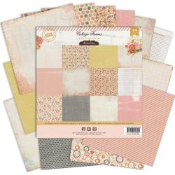 Paperpad 15x15cm - Cottage Farms -Pink Paislee