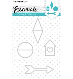 STENCILSL142 Snij- en embosmal - Essentials- Studio Light