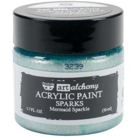 964085  Acrylic Paint - Sparks - Mermaid Sparkle - Finnabair Art Alchemy