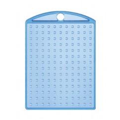 Losse sleutelhanger Blauw met kettinkje  -  Pixel Hobby