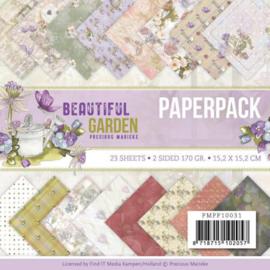 PMPP10031 Paperpad - Beautiful Garden - Marieke Design