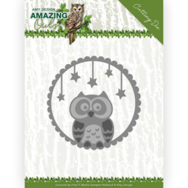 ADD10219 Snij- en embosmal  - Amazing Owls - Amy Design