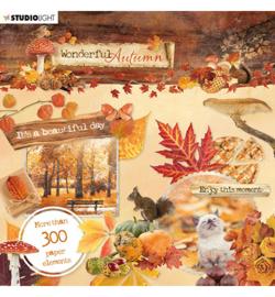 EASYWA664 Die cut boekje - Wonderful Autumn - Studio Light