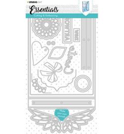 STENCILSL380  Snij- en embosmal - Essentials- Studio Light