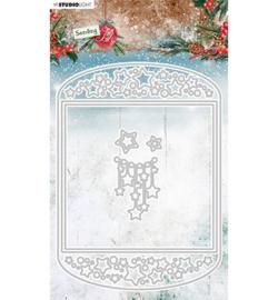 SL-SJ-CD54 - SL Cutting Die Card shape Sending Joy nr.54