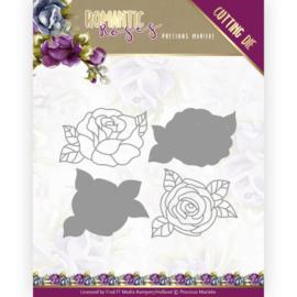 PM10198 Snij- en embosmal - Romantic Roses - Marieke Design