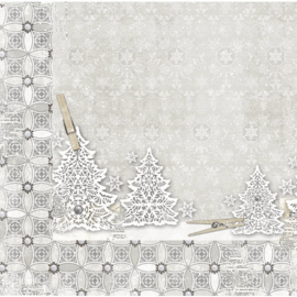 20901837 Scrappapier dubbelzijdig - Winter Wishes - Bo Bunny