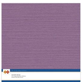 38 Aubergine - Linnen Karton 30,5 x 30,5cm - 10 stuks - 200 grams - Card Deco - PAKKETPOST!!