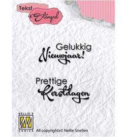 DTCS017 Clearstempel Nederlandse tekst - Nellie Snellen