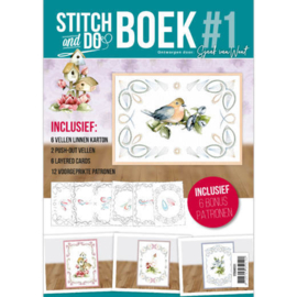 Stitch and Do boek A6 nr. 1 - Sjaak van Went
