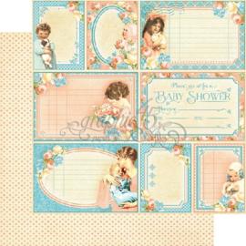 4501087 Scrappapier dubbelzijdig - Precious Memories Collection - Graphic45