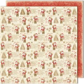 482 Scrappapier dubbelzijdig - Vintage Winter - Maja Design