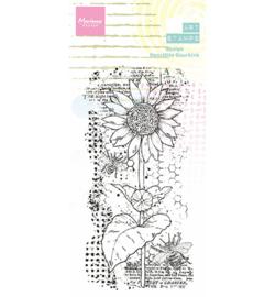 MM1648 - Arts stamps Sunflower - Marianne Design
