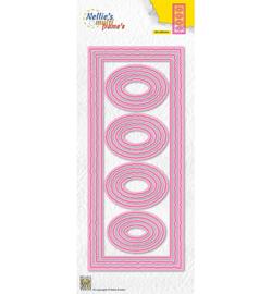 MFD141 - Slimline Die Ovals - Nellie Snellen