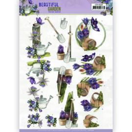 CD11636 3D vel A4 - Beautiful Garden - Marieke Design