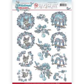 SB10276 Uitdrukvel A4  - Christmas Dreams - Yvonne Creations