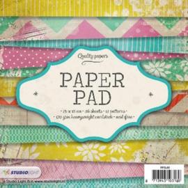 PPSL66 Paperpad 15,2 x 15,2 cm - Studio Light