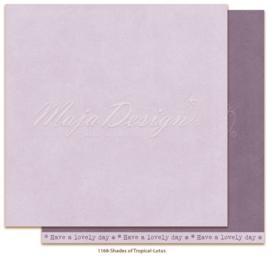 1168 Scrappapier dubbelzijdig Monochromes  -  Tropicial Garden - Maja Design