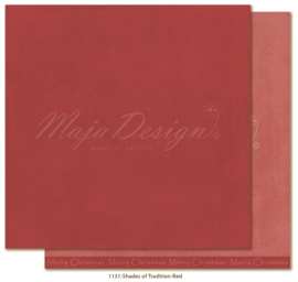 1131 Scrappapier dubbelzijdig - Monochromes - Traditonal Christmas - Maja Design