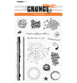STAMPSL502 Clearstempel - Grunge collection - Studio Light