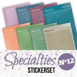 Stickerset bij Specialties nr. 12