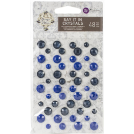634209 Dots 48 stuks - Georgia Blues - Prima Marketing