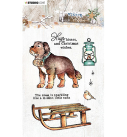 STAMPWC488  Clear stempel - Winter Charm - Studio Light