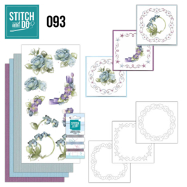 Stitch and Do nr. 93 - Winter bloemen