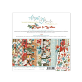 Paperpad 15x15cm - Home for Christmas - Mintay