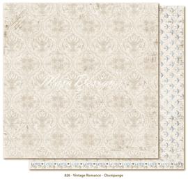 826 Scrappapier dubbelzijdig - Vintage Romance - Maja Design