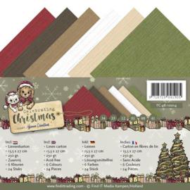 YC4k10014 Karton 13.5x27cm - Celebrate Christmas - Yvonne Creations