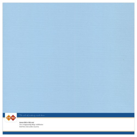 26 Zacht Blauw - Linnen Karton 30,5 x 30,5cm - 10 stuks - 200 grams - Card Deco - PAKKETPOST!!