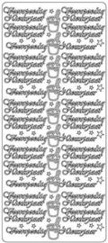 1855 Sticker - Voorspoedig Nieuwjaar