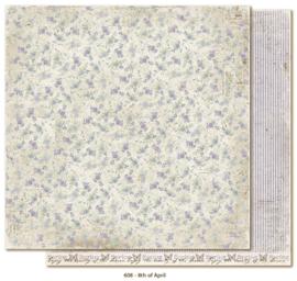 608 Scrappapier dubbelzijdig - Vintage Spring - Maja Design