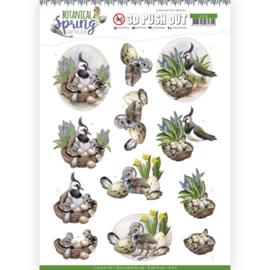 SB10436 Stansvel 3D vel A4 - Botanical Spring - Amy Design