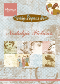 PK9117 Paperpad A5 Nostalgisch Pictures - Marianne Design