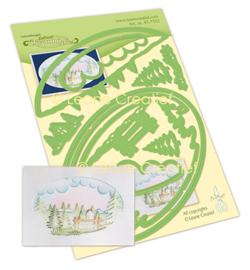 457552 - Lea'bilitie Diorama Winter landschap