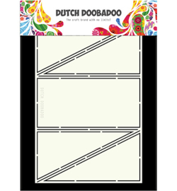 470.713.327 Dutch Card Art A4 Diagonal Fold - Dutch Doobadoo