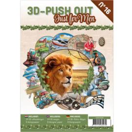 3DPO10016 Uitdrukvellen boek - Just for men