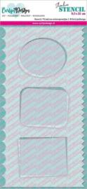 CDSC-0013 Stencil Slimline achtergrondjes 1 - Carlijn Design