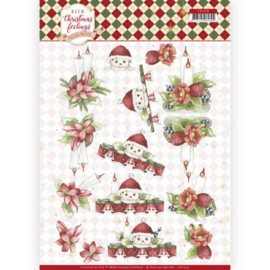 CD11319 3D vel A4 - Warm Christmas Feelings - Marieke Design