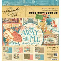 4500923 Paperpad 20.5 x 20.5cm - Come Away with me Collection - Graphic45