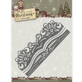 YCD10112 Snij- en embosmal - Celebrate Christmas - Yvonne Creations