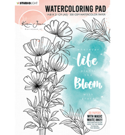 WCPKJ01 Water Coloring Pad - Karin Joan - Studio Light