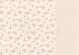 PD18008 Scrappapier dubbelzijdig - Life is Peachy - Pion Design