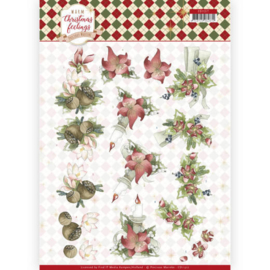 CD11317 3D vel A4 - Warm Christmas Feelings - Marieke Design