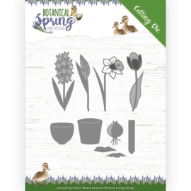 ADD10199 Snij- en embosmal - Botanical Spring - Amy Design
