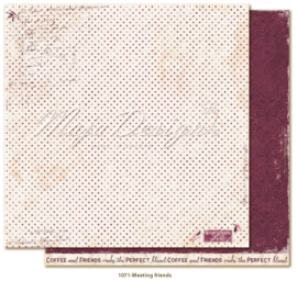 1071 Scrappapier dubbelzijdig - Little Street Café - Maja Design