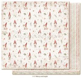 1117 Scrappapier dubbelzijdig - Traditonal Christmas - Maja Design